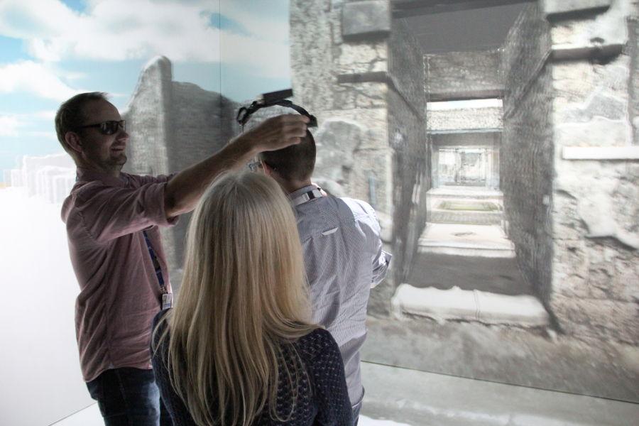 Virtual reality headset - Lund
