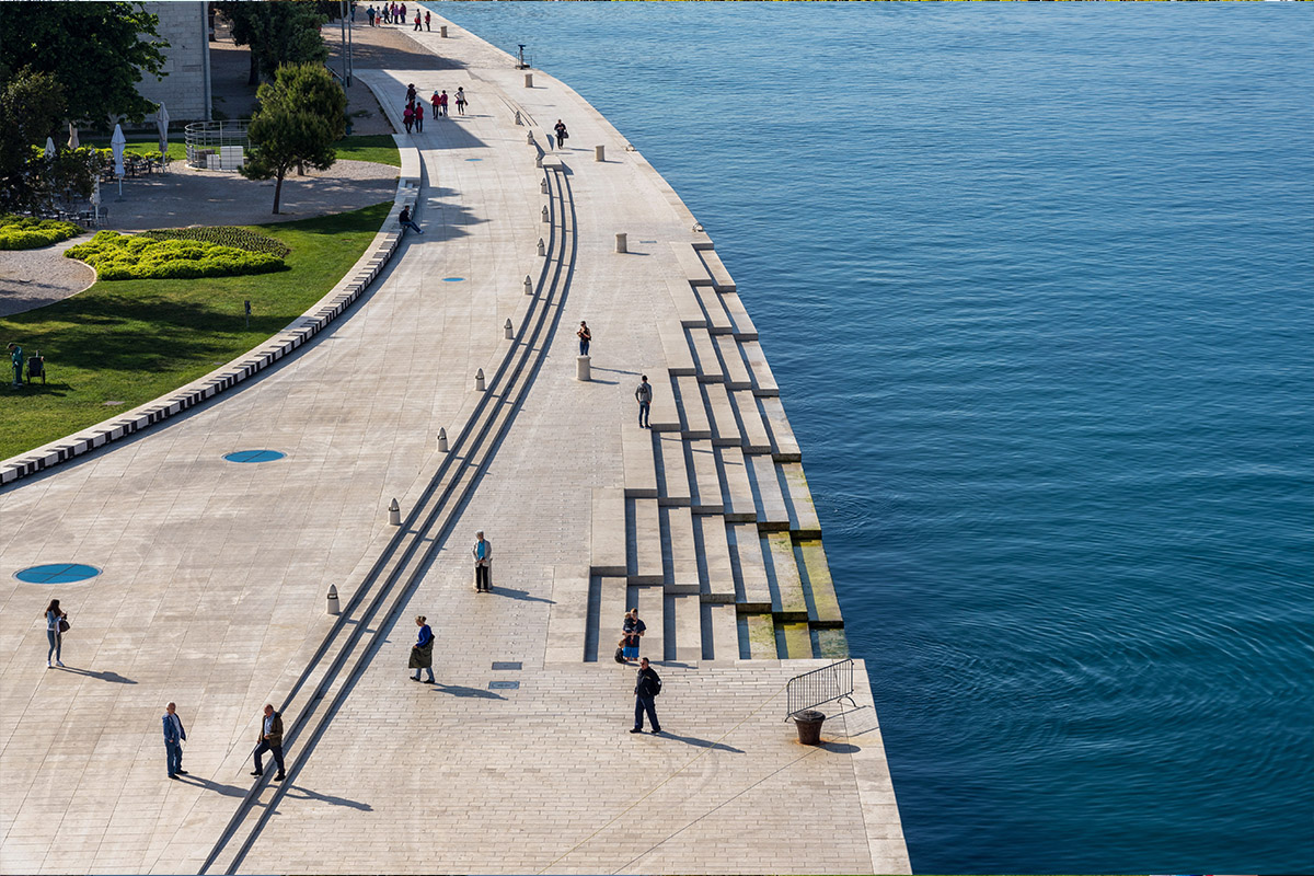 BlueHealth Toolbox photo of Sea Organ in Zadar Croatia